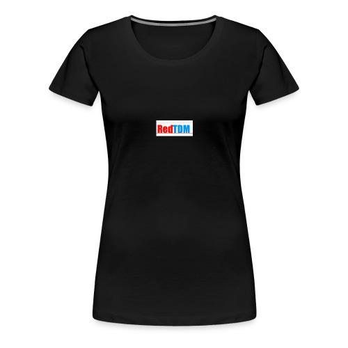 RedRed TDMBlue - Women's Premium T-Shirt
