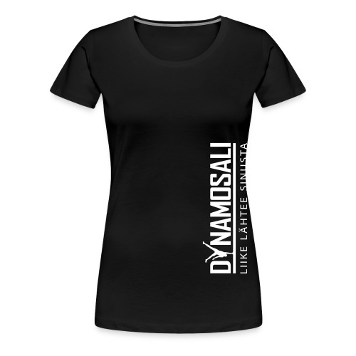 DynamoSALI_logo - Naisten premium t-paita