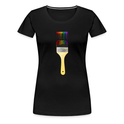 Paint the Town! Manchester! - Women's Premium T-Shirt