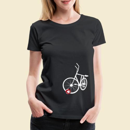 Radball   White - Frauen Premium T-Shirt