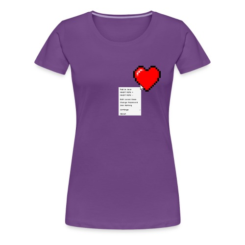Options of the heart - Dame premium T-shirt