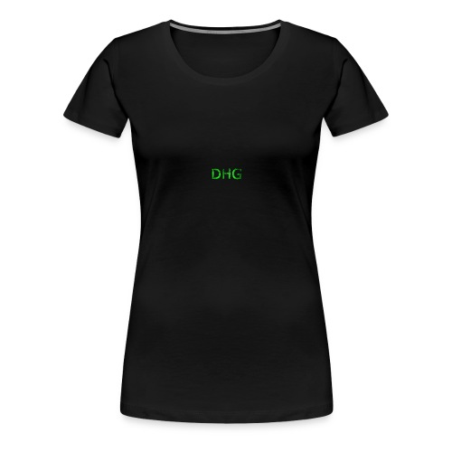 DHGgreen - T-shirt Premium Femme
