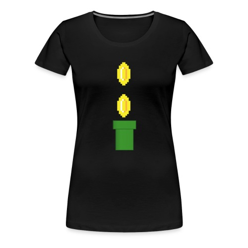 Pipeline Coin - Camiseta premium mujer