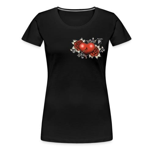 01DD Claudia Hek - Vrouwen Premium T-shirt