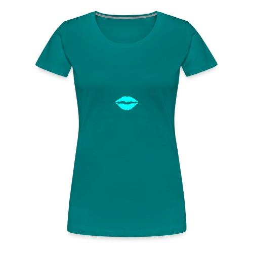 Blue kiss - Women's Premium T-Shirt