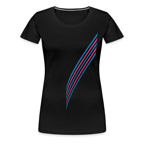 5 Stripes - Frauen Premium T-Shirt