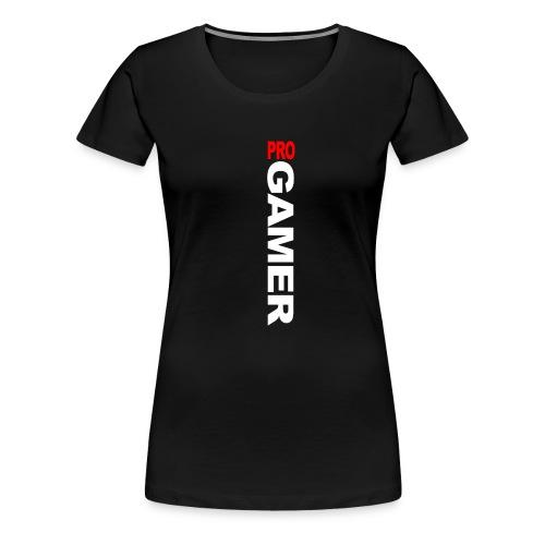 Pro Gamer (weiss) - Frauen Premium T-Shirt