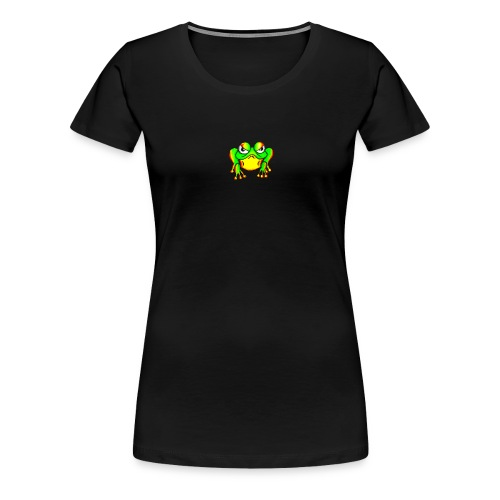 Angry Frog - T-shirt Premium Femme