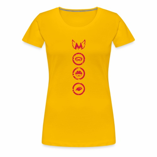 Mosso_run_swim_cycle - Maglietta Premium da donna