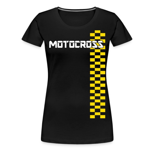 motocross - T-shirt Premium Femme