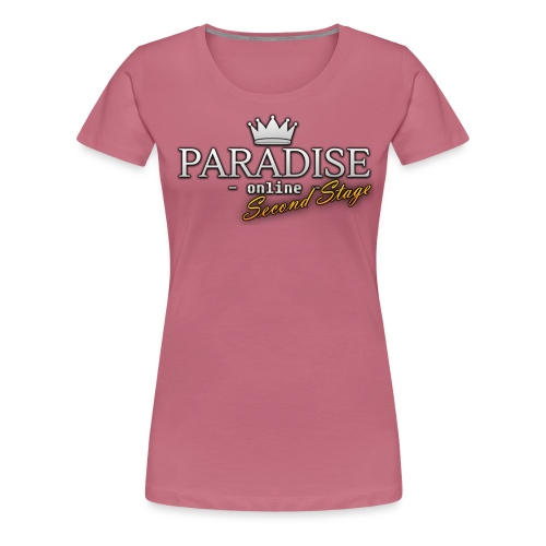 Paradise Online: Second Stage - Vrouwen Premium T-shirt