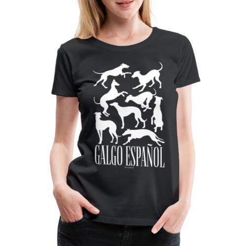 Galgo Espan ol - Naisten premium t-paita