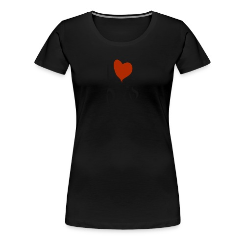 i love paris - T-shirt Premium Femme
