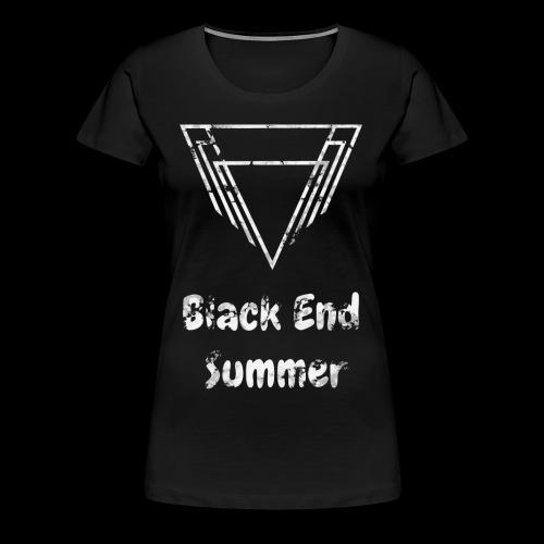 Haut Noir - T-shirt Premium Femme