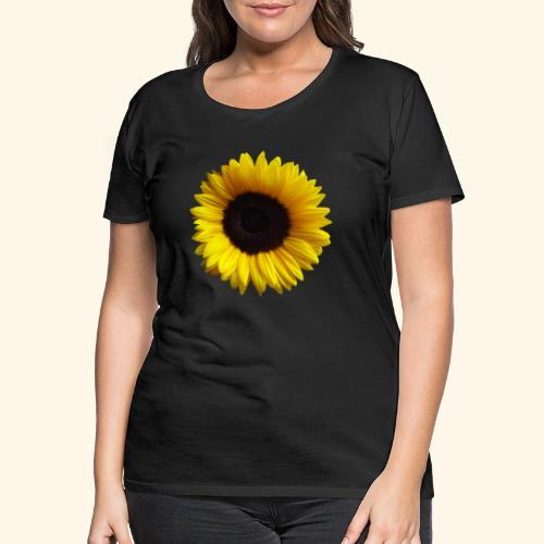 Sonnenblume, Sonnenblumen, Blume, Blüte, floral - Frauen Premium T-Shirt
