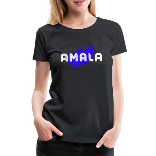 Amala, pazza inter (nera) - Maglietta Premium da donna