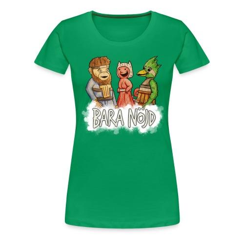 baranojd4 png - Premium-T-shirt dam