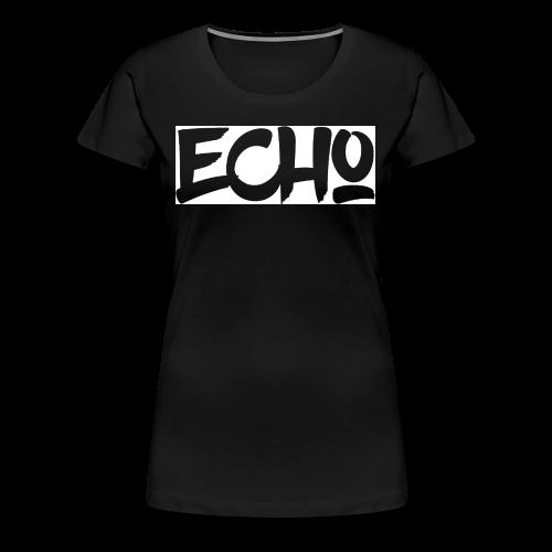 Echo_White_Design - Frauen Premium T-Shirt