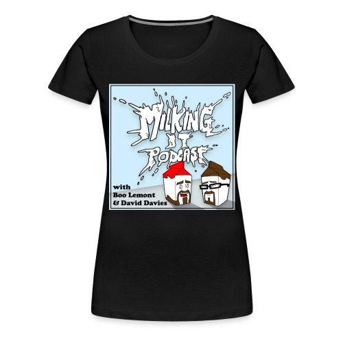 milkyb png - Women's Premium T-Shirt