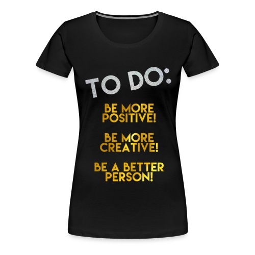 To Do List png png - Women's Premium T-Shirt