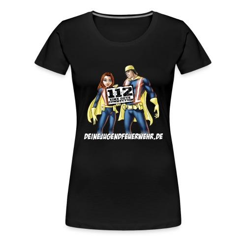 Superhelden & Logo - Frauen Premium T-Shirt