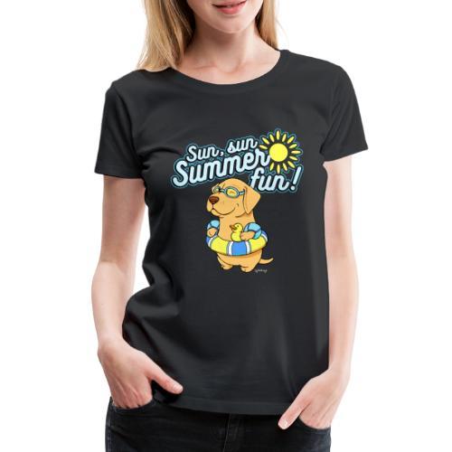 labsummerfun2 - Naisten premium t-paita