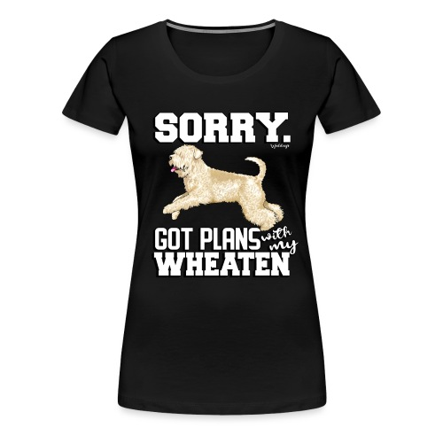 Wheaten Terrier Plans 2 - Women's Premium T-Shirt