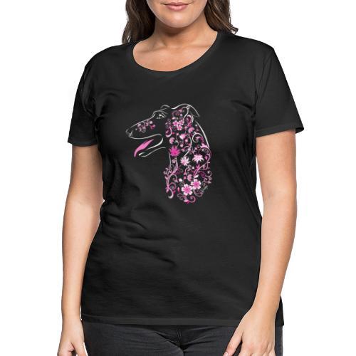 Kukkaisgalgo II - Naisten premium t-paita