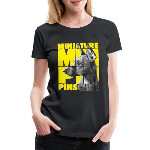 Minpin V - Naisten premium t-paita
