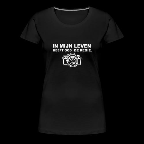 De regie - Vrouwen Premium T-shirt