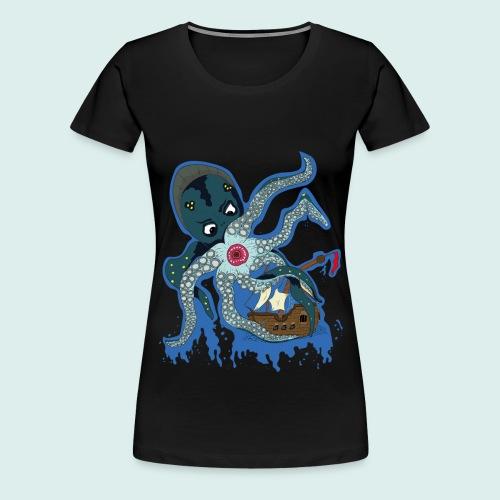 Männer Tank Top mit Ringerrücken - Kraken (Limit - Frauen Premium T-Shirt