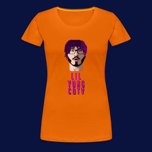 LIL YUNG CDTV ALT. TEXT - Women's Premium T-Shirt