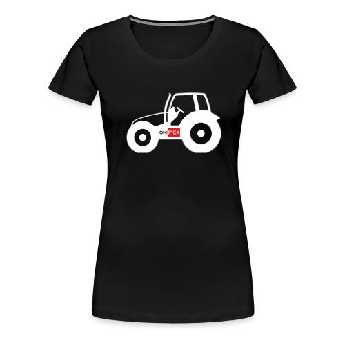 OhFuck_bauern_3120x2560 - Frauen Premium T-Shirt