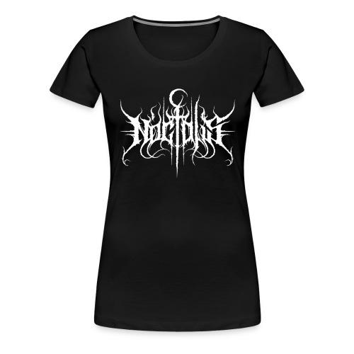 Noctalis Logo White - Frauen Premium T-Shirt