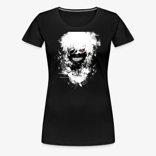 Kaneki Eye Patch - Women's Premium T-Shirt