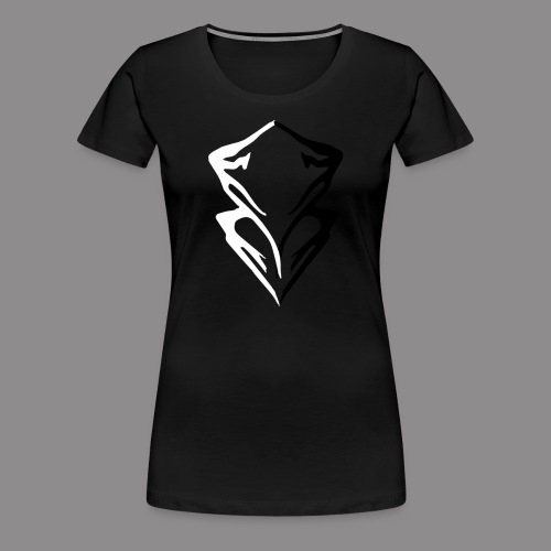 Summit Mountain Logo - Women's Premium T-Shirt
