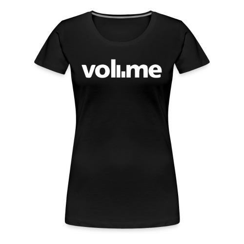 Coolest Volume Graphic Design White Rock it Dandy - Women's Premium T-Shirt