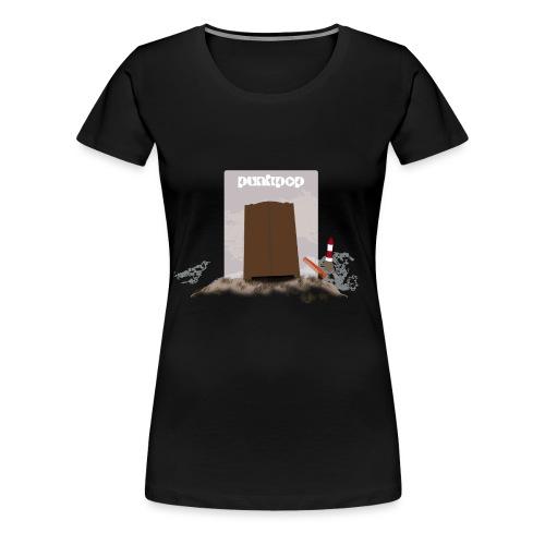 Dark Close PunkPop - Maglietta Premium da donna
