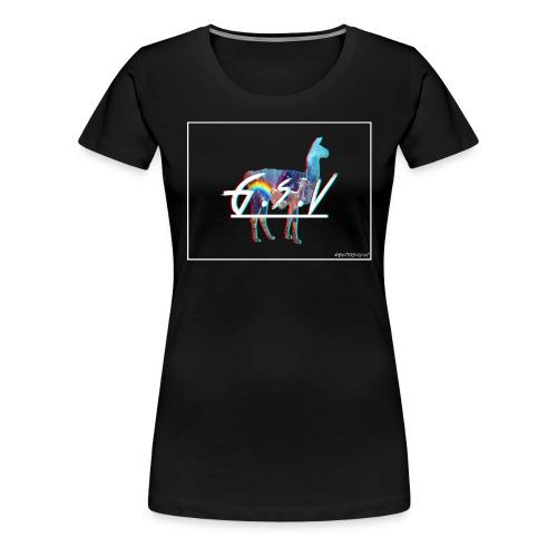 lama 3d - T-shirt Premium Femme