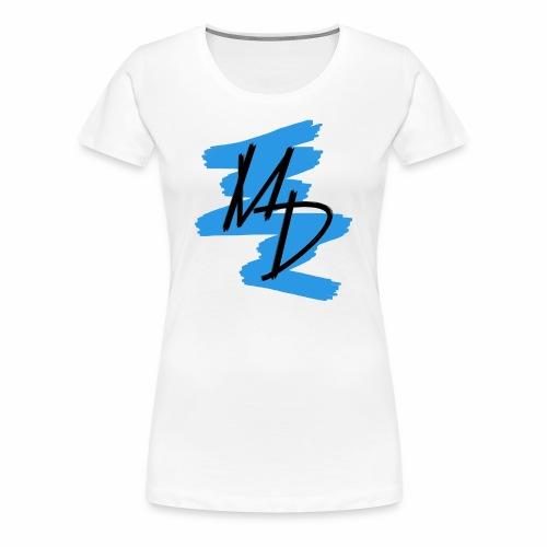 MD BRAND PNG Azul - Camiseta premium mujer