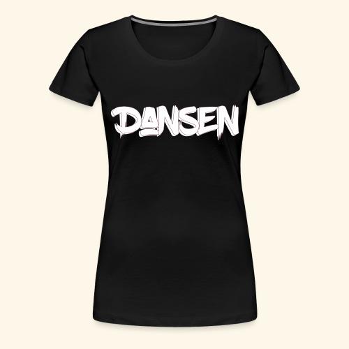 DansenLogo - Premium-T-shirt dam