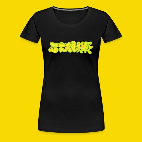 Strange Graffiti - Koszulka damska Premium