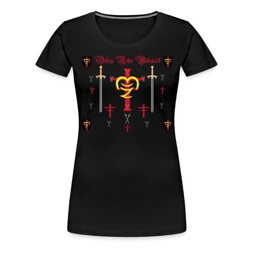 Orden Notre Billstedt - Frauen Premium T-Shirt