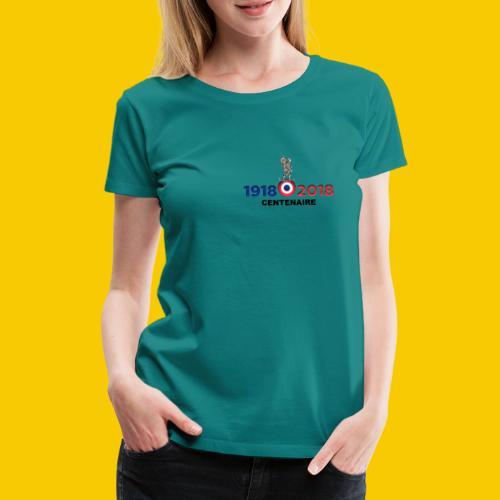 CENTENAIRE - T-shirt Premium Femme
