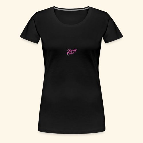 Beauty Girl Ltd logo web medium - Dame premium T-shirt