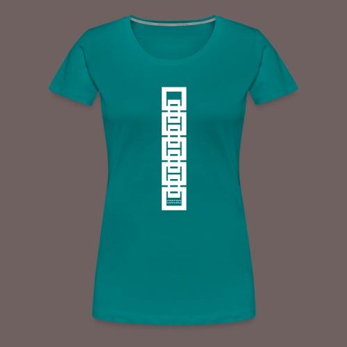GBIGBO zjebeezjeboo - Rock - Bracelet Squares 02 - T-shirt Premium Femme