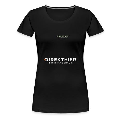 DIREKTHIER Logo - Frauen Premium T-Shirt