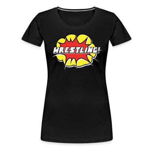 wrestling3 png - Women's Premium T-Shirt