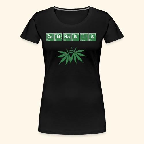 Cannabis Elemente Weed 420 - Frauen Premium T-Shirt