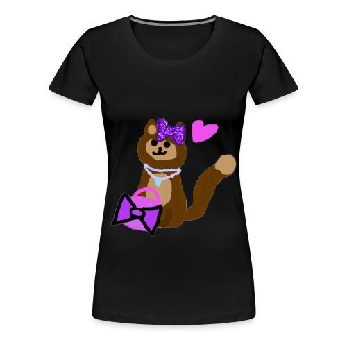 kyra shirt design kopie png - Women's Premium T-Shirt